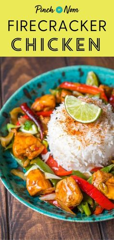 Firecracker Chicken - It's the perfect dish to feel like you're dining out in the comfort of your own home! #firecrackerchicken #maindish