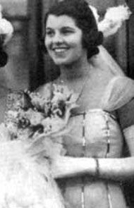 "Rose Marie (""Rosemary"") Kennedy in 1939 presented at Buckingham Palace"