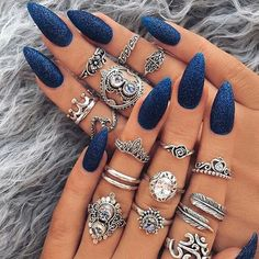 Do you guys like her nails?credit:@indigo_lune . . Shopping link in my bio . #nails#nailart#nailstagram#nailpolish#design#love#instagood#summer#girl#l4l#perfect#fashion#style#potd#photooftheday#photo#blogger#friends#fit#inspiration#goals#makeup#selfie#friends#pretty#luxurydiary