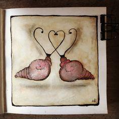 #artjournal #atelierdelliberte Moleskine, Candle Sconces, Wall Lights, Candles, Painting, Home Decor, Art, Atelier, Art Background