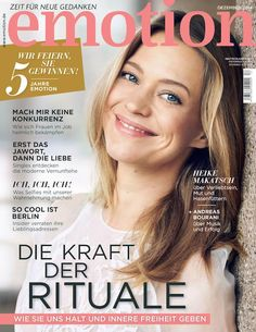 Die neue emotion am 27. November 2014