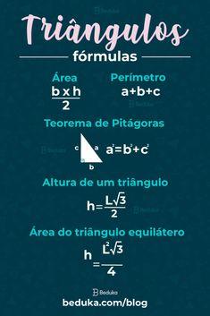 English Study, Learn English, Triangulo Isosceles, Mental Map, Math Notes, Study Organization, School Study Tips, Study Planner, Exam Study