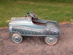 vintage toy riding car