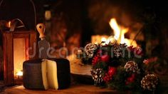 Christmas Snack In Front Of The Fireplace - Download From Over 26 Million High Quality Stock Photos, Images, Vectors, Stock Video Footage. Sign up for FREE today. Video: 36043178
