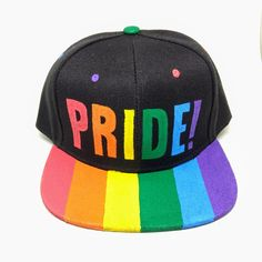 Gay Pride Rainbow Flag Love Unisex Baseball Cap Ultra Thin Running Caps Adjustable Trucker Caps Dad-Hat