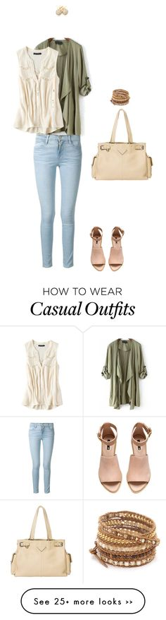 """Coffee casual"" by serenagaylord on Polyvore"