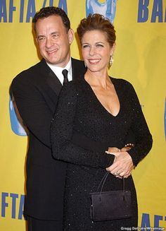 Tom Hanks and Rita Wilson! One of my favorite celeb couples :) mostly because they have been together forever :)