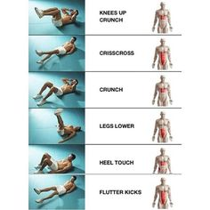 Mostly mid section ab work