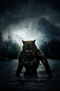 Werewolf Art by Dean Samed