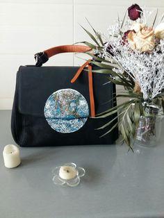 Earth bag handpainted by me