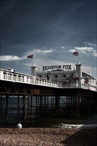 Brighton Pier in the UK, Top 5 LGBT travel destination.