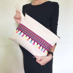 Oversized Inca Clutch Peruvian Textile Purse Textile Hand