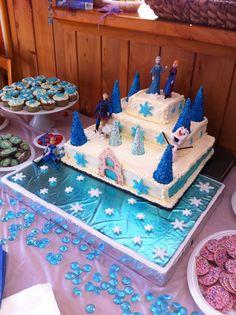 Chelsea's frozen Birthday Cake
