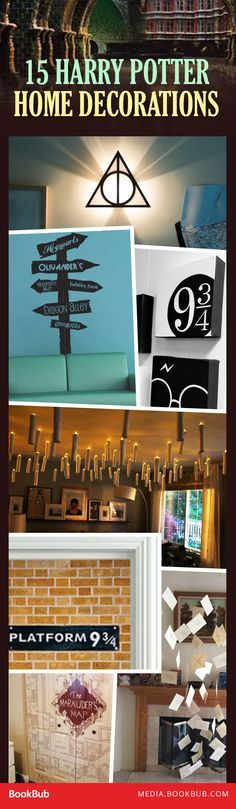 15 Unbelievably Creative Ways To Add Harry Potter Magic Your Home