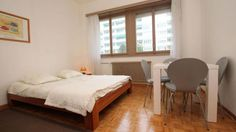 Furnished studio - Crespin 20 - GENEVE | 1950  CHF ###Furnished studio for rent  Located in Florissant's area. Nearby all utilities as public transport and shops.  This charming apartment includes: a entrance hall   - a nice living/bedroom area   -