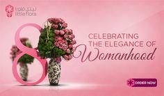 International Women's Day - Celebrate with Flowers