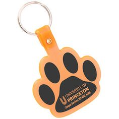 Imprint these paw key tags pronto – 24HR!