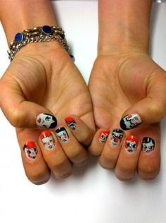 Jessica Washick nails!
