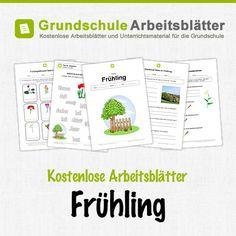 Kostenlose Arbeitsblätter und Unterrichtsmaterial zum Thema Frühling in der Grundschule.