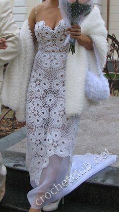 Irish crochet &: DRESS ........ ПЛАТЬЕ