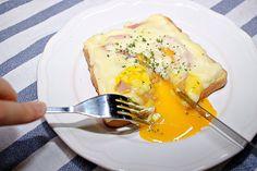 한번 맛보면 다른 토스트는 생각도 안나는 '까르보나라 토스트' K Food, Sandwiches, Deserts, Toast, Brunch, Food And Drink, Eggs, Baking, Breakfast