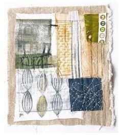 gelli print on fabrics   a-piece-of-cloth-1-by-DR | by dudleyredhead