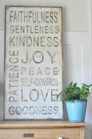 fruit of the spirit wall decor - Google Search