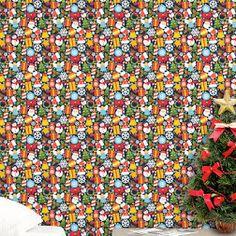 Nesse Natal Faça algo diferente e Moderno, Use e Abuse dos Adesivos de Parede da Aqui Gruda para decorar o ambiente de sua casa, deixe tudo muito lindo para receber as visitas de final de ano...  http://www.elo7.com.br/papel-de-parede-para-enfeites-de-natal/dp/81323C  #Onde_Comprar_Papel_de_Parede# clique no Link Acima #Comprar_Papel_de_Parede#  é na AQUI GRUDA!!!