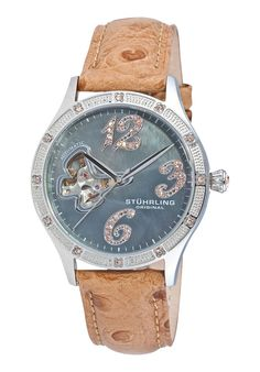 Stuhrling Original Created in a blend of fashion and class, this Stuhrling timepiece exhibits a bold style that adds flare to your collection. Bold Fashion, Flare, Watches, Woman, The Originals, Accessories, Collection, Style, Swag