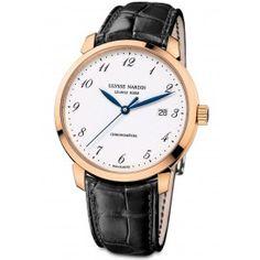 Professional Ulysse Nardin Classico White Enamel Dial Rose Gold Automatic 8152-111-2/5GF