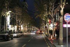 Garosugil, Sinsa-dong, Gangnam-gu, Seoul, South Korea