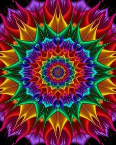 JUST COLOR…….SO NECESSARY FOR BEAUTY…….ccp                                                                                                                                                                                 More Mandalas