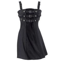 Steampunk Buckle Dress
