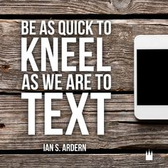 Have you prayed about it as much as you've talked about it? #sharegoodness