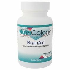 Nutricology Brainaid, Tablets, 60-Count by Nutricology. Save 42 Off!. $16.61. A dietary supplement.. Enhance mental functions associated with learning and memory.. It supports blood circulation.. Designed to nutritionally support brain function and memory. BrainAid contains nutrients that variously support blood circulation, neurotransmitter production, and neurological function.