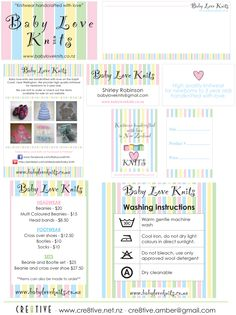 Baby Love knits Branding Love K, Baby Love, Can Design, Business Branding, Party Printables, Wedding Stationery, Baby Knitting, Knits, Baby Knits