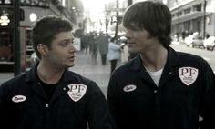 Supernatural - Sam and Dean as repairmen