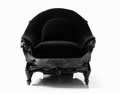 Skull Armchair >>> Skull Armchair is an ominously powerful looking piece of furniture by French designer Harold Sangouard, aka Harow, that seems fit for anyone interested in comfort as they plot sinister moves.