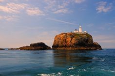 South Bishop Lighthouse (South Bishop Island, Wales, UK)