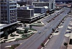 Nairobi 1960 to 1962 - photographs of streets and buildings and Kenya Nairobi, Historical Photos, Colonial, The Past, African, History, Street, Postcards, 1950s