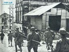 Avanço de tropas chinesas.