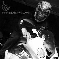 Rekairbrush Custom Airbrushed Motorcycle Helmet 56