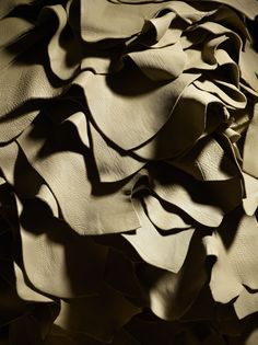 Louis #Vuitton #leather raw material.