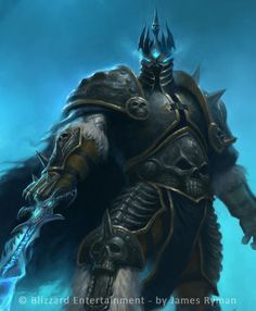 WoW TCG Lich King detail by namesjames.deviantart.com on @deviantART