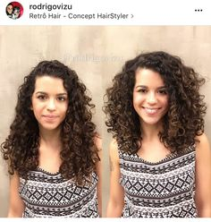 60 Styles and Cuts for Naturally Curly Hair Extra Voluminous Medium Curly Cut Curly Hair Care, Long Curly Hair, Curly Hair Styles, Natural Hair Styles, Curly Girl, Medium Curly, Medium Layered, Deva Curl, Hair Photo