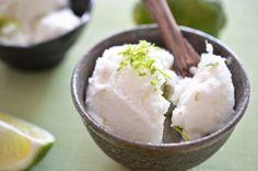 Ice Cream Sundays: Lime Coconut Sorbet