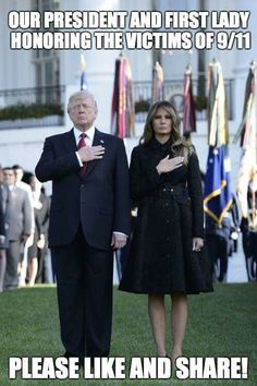 God Bless President Trump and the First Lady Melania Trump!