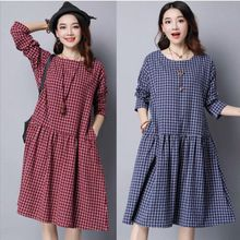 Like and Share if you want this  New Autumn loose maternity dress plaid fresh cotton ramie long sleeve dresses for fat gril casual simple gravida clothes     Tag a friend who would love this!     FREE Shipping Worldwide     Get it here ---> http://oneclickmarket.co.uk/products/new-autumn-loose-maternity-dress-plaid-fresh-cotton-ramie-long-sleeve-dresses-for-fat-gril-casual-simple-gravida-clothes/