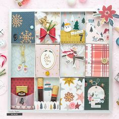 DIY Advent Calendar with Ikea Frames (Crate Paper) Old Christmas, Christmas Crafts, Christmas Ideas, Diy Crate Coffee Table, Diy Advent Calendar, Advent Calendars, Beav, Ikea Frames, Clear Stickers
