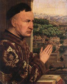 jan van eyck | Fichier:Jan van Eyck - The Virgin of Chancellor Rolin (detail ...